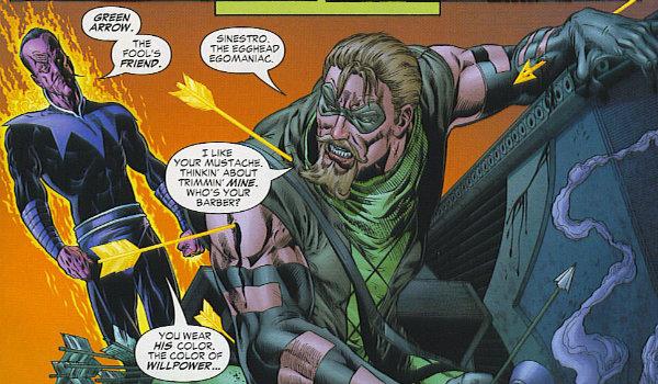 Green Arrow Vs Sinestro