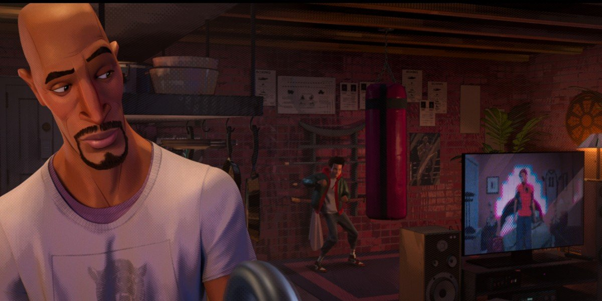 Spider-Man: Into The Spider-Verse Donald Glover Cameo