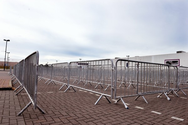 X Factor audition queues