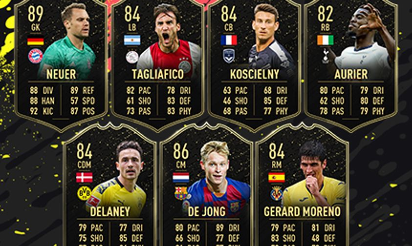 FIFA 20 Team of the Week 1 revealed: Ibrahimovic, Neuer, Mane and more