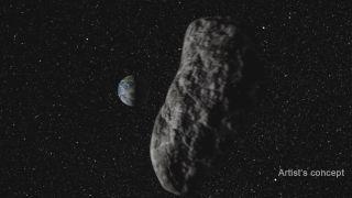 Dangerous Asteroid: Artist's Concept
