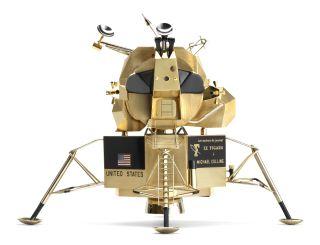 Lunar Landing Module by Cartier