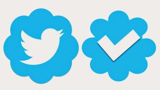 The verification symbol of Twitter