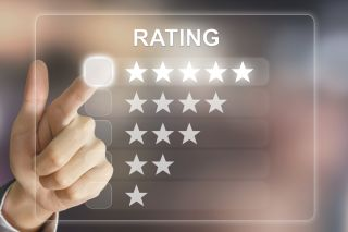 online rating, rating, five stars, review