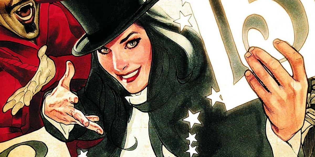 Magical DC heroine Zatanna Zatarra