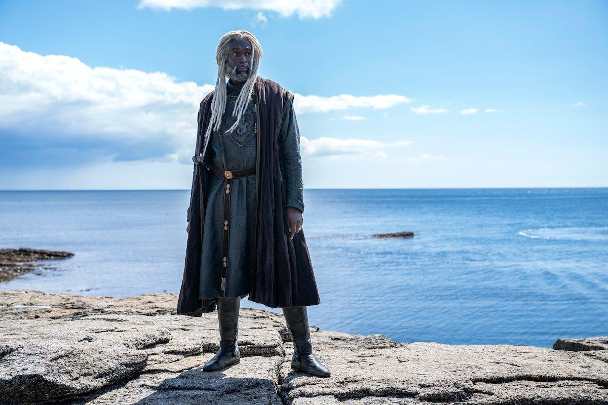 "Steve Toussaint as Lord Corlys Velaryon, ""The Sea Snake"""