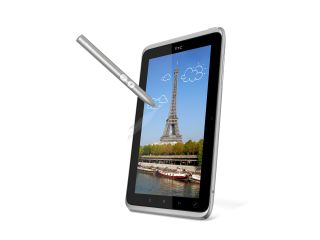 The HTC Flyer bringing back the stylus in a 21st century flavour