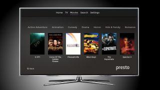 Samsung TV Presto app