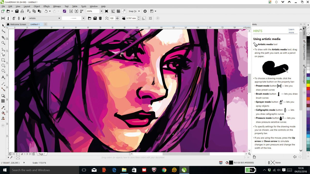 Review Coreldraw Graphics Suite X8 Creative Bloq