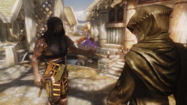 the best skyrim mods: guard dialogue overhaul