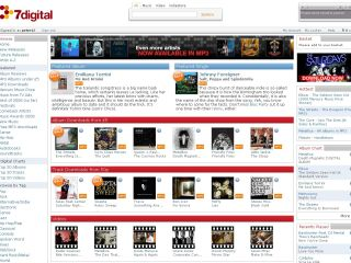 7 Digital - first European site to have all four major music labels' music on MP3