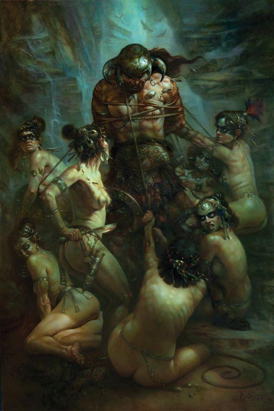 Fantasy Art - Male Warrior on Flipboard by yogi_james