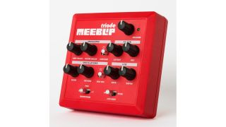 MeeBlip triode: rough and reddy.