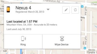Android Device Manager is like Find My iPhone