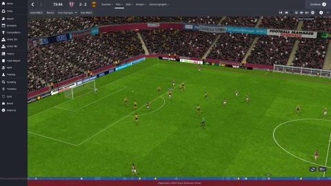 Football Manager 2015 main