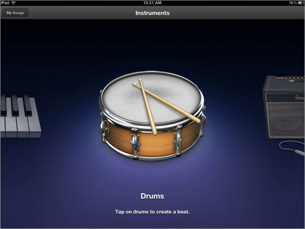 Apple GarageBand 1 3 (for iPad) review | ITProPortal