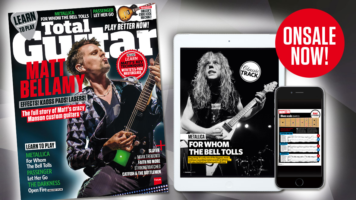 Total Guitar issue 268 out now: Matt Bellamy\'s custom guitars, Faith ...