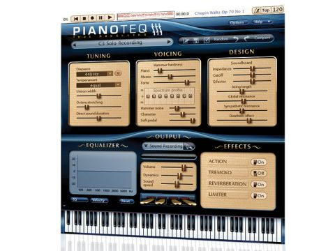 Pianoteq now produces acoustic and electric sounds.