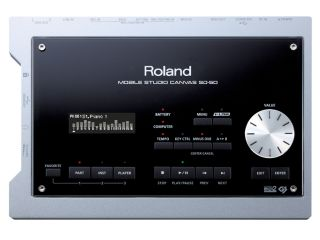 The Mobile Studio Canvas bears the Roland name