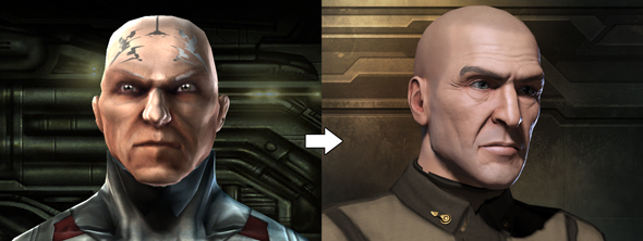 before and after eve online s new character creation pc gamer