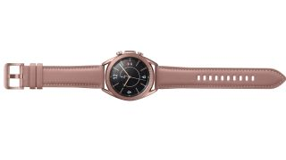"The Galaxy Watch 3 in ""Bronze"""