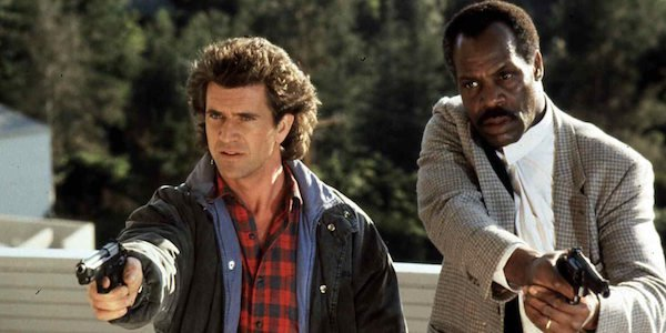 Riggs and Murtaugh in Lethal Weapon
