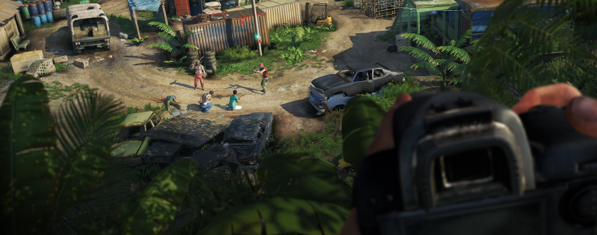 Far Cry 3 Gameplay Video With Commentary Shows Goat Archery