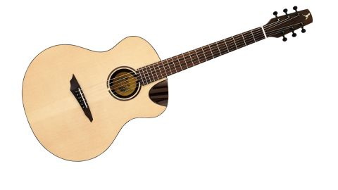 Like all the Avian guitars, the Songbird is made from all-solid wood, with a fastidious attention to detail