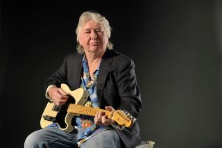 Mick Ralphs with his 57 Esquire