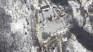 North Korean test facility