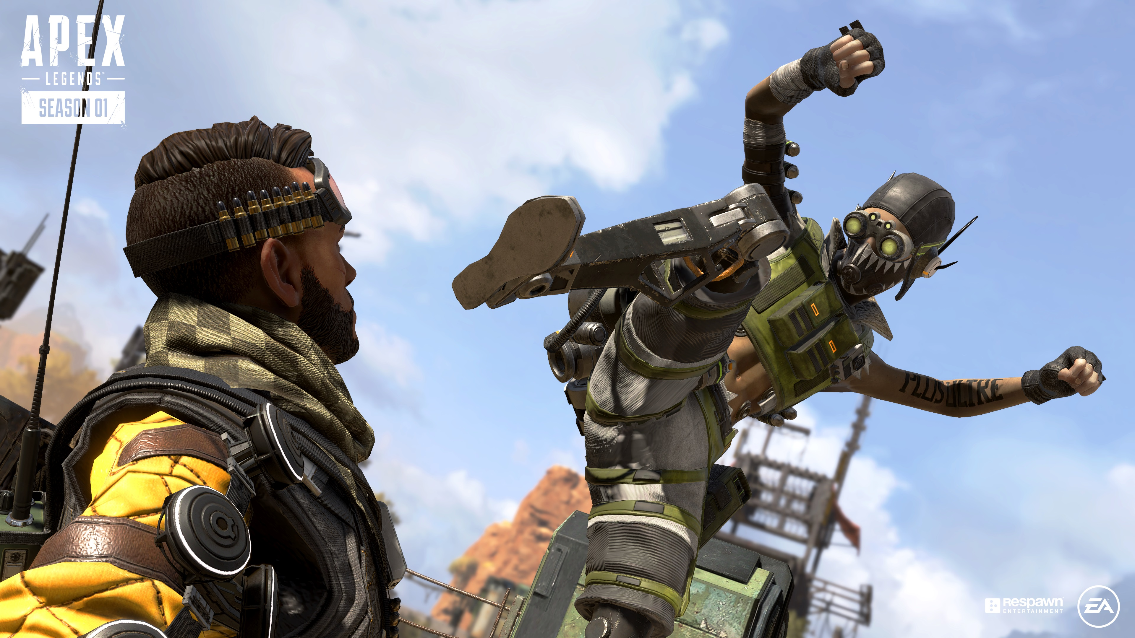 Apex Legends Season 1: Wild Frontier patch notes include