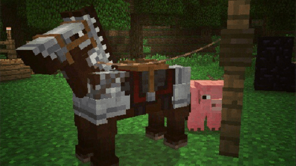 Minecraft update adds horses, horse armor at no additional ...
