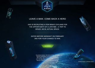 Axe Space Challenge