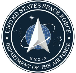 The new emblem of the U.S. Space Force. President Donald Trump unveiled the seal on Twitter Friday, Jan. 24.