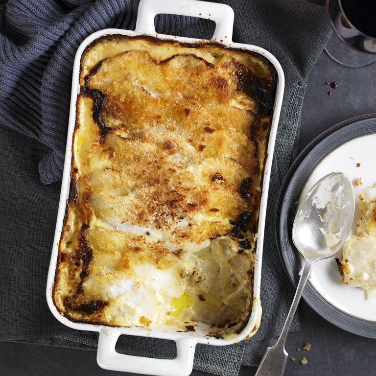 Celeriac Gratin with Gruyere Recipe-vegetarian recipes-recipe ideas-new recipes-woman and home