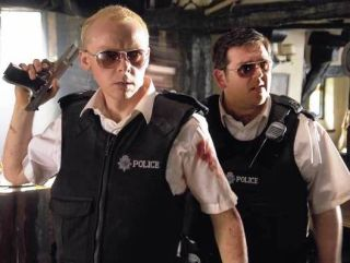 Hot Fuzz is one of the films available on the service
