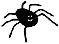 Spider email drawing offered as bill payment