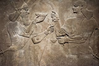 Ancient Babylonia and Assyria sculpture from Mesopotamia.