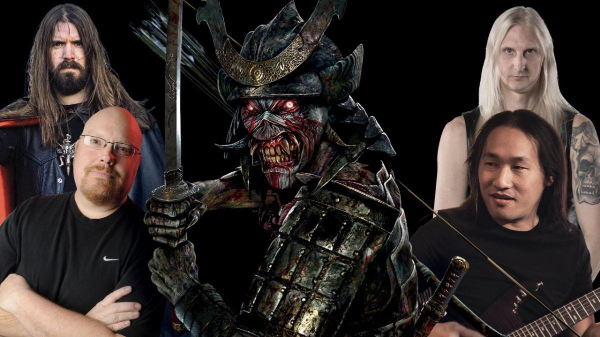 The metal world weighs in on Iron Maiden's Senjutsu