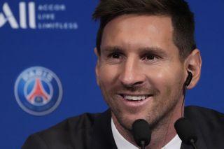 Lionel Messi is raring to go in Paris