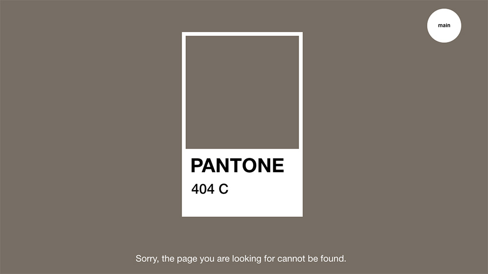 404 pages: Color of the Year