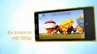 Nokia Lumia 1020 officially outed in video