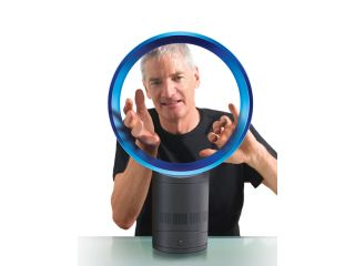 The Dyson Air Multiplier - we bet he's just secretly blowing into it