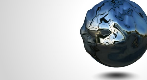 Create an interactive liquid metal ball with WebGL