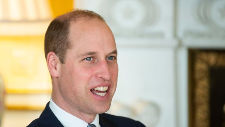 Prince William, Duke of Cambridge speaks during an audience at Buckingham Palace on January 20, 2020 in London, England.
