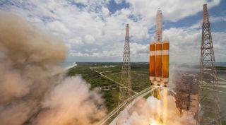 ULA Delta IV-heavy launch