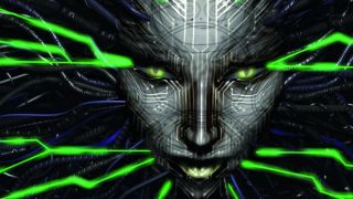 Shodan, the villainous AI from System Shock