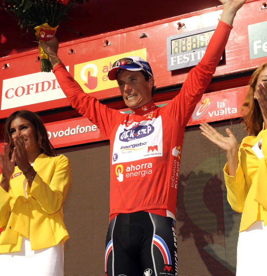 Sylvain Chavanel in lead, Vuelta a Espana 2011, stage four