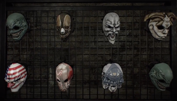 Payday 2's latest video showcases the safehouse, boasts terrifying