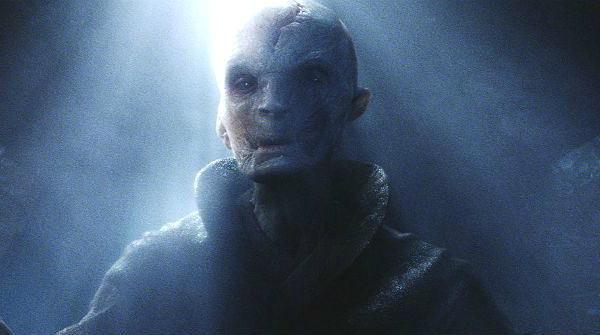 Snoke in The Force Awakens